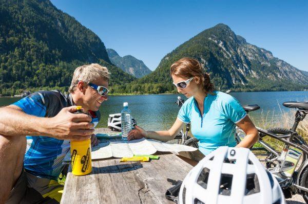 Mountainbike Karten Salzkammergut