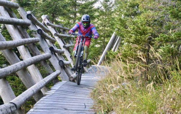 Downhillstrecke in Ebensee