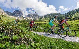 Mountainbiketour Dachsteinrunde (Foto: CoenWeesjes Salzburger Sportwelt)