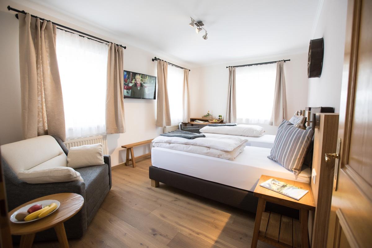 Doppelzimmer im Bikehotel Gasthof Moserwirt in Bad Goisern