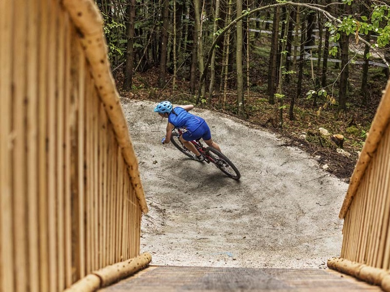 Salzkammergut Mountainbike Comprix in der Bike Arena in Obertraun
