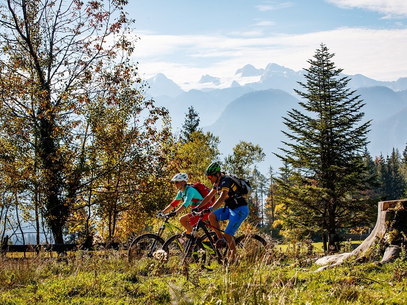 Mountainbiketouren im Dachstein Salzkammergut