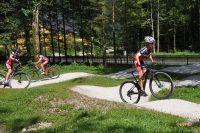 Pumptrack beim Bundessport- und Freizeitzentrum Obertraun